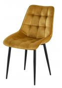 Krzesło Posh J-262-1 Velvet Furni