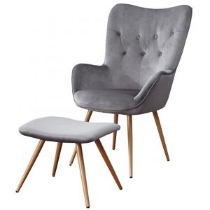 Fotel Alvik LC-022 Velvet Furni