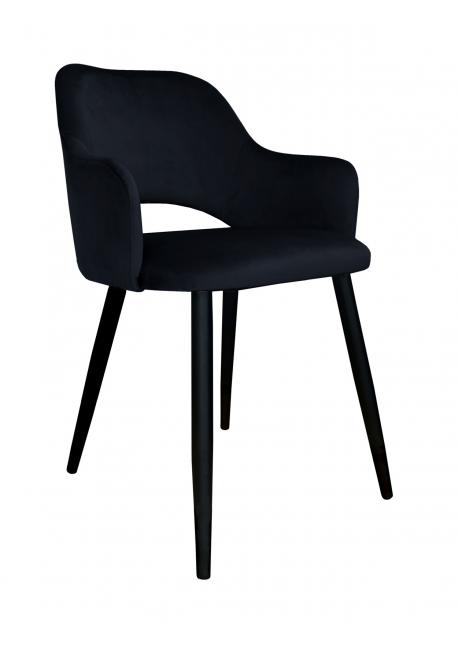 Krzesło Milano czarny Magic Velvet