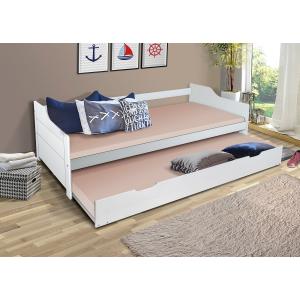 Łóżko Bufalo 90x200 dwuosobowe wysuwane