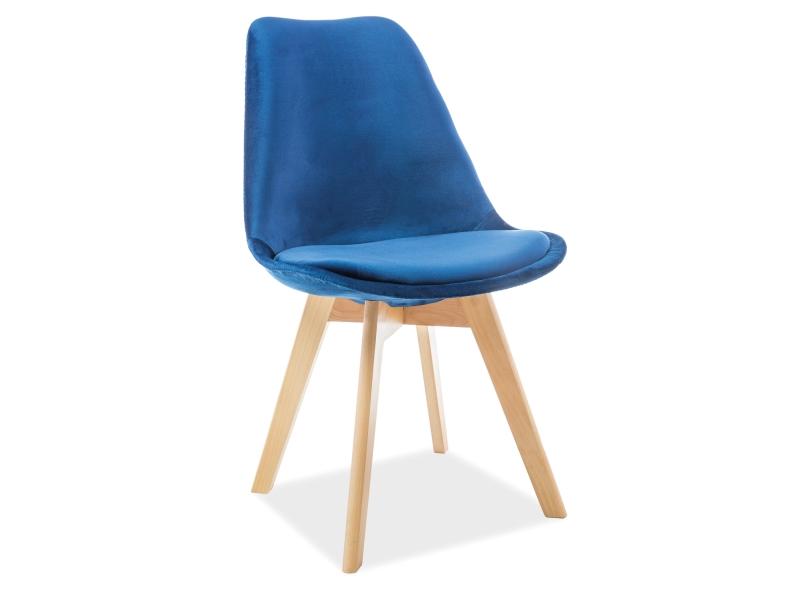 Krzesło Dior Velvet nogi bukowe