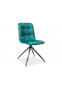 Krzesło tapicerowane Texo aksamit