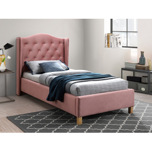 Łóżko Aspen Velvet 90x200 Signal