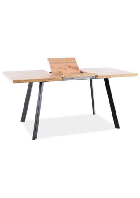 Stół rozkładany Brick Dąb Wotan 118-160 Signal