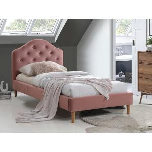 Łóżko Chloe Velvet 90x200 Signal