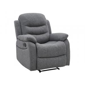 Fotel Rozkładany Neron Szary Tap.158