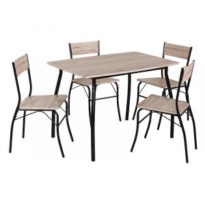 Zestaw Modus stół z krzesłami dąb Signal