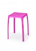 Taboret TICO fioletowy OUTLET