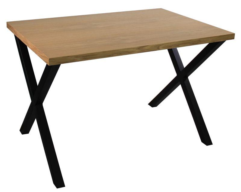 Stół LOFT-T fornir dąb 80x80