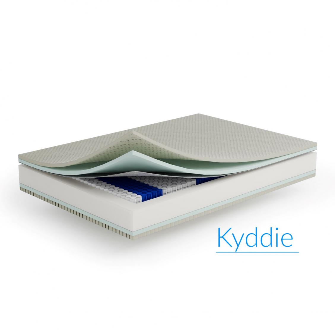 Materac Kyddie  kieszeniowy 90x200 20 cm