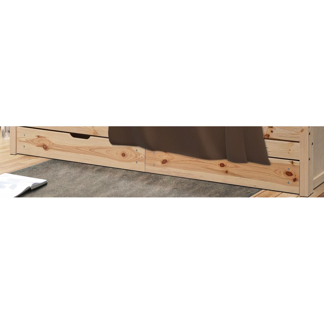 Zestaw 2 szuflad do łóżka Kangur