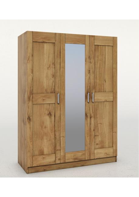 Szafa Toni 3-drzwiowa z lustrem