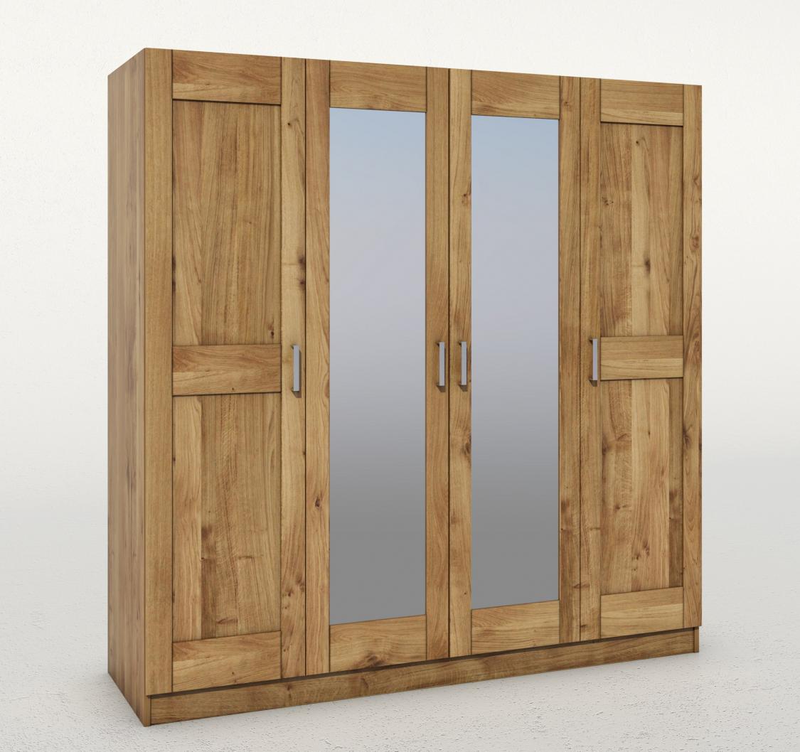 Szafa Toni 4-drzwiowa z lustrem