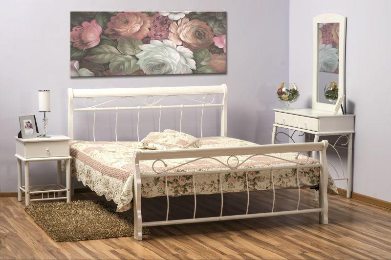 Łóżko Venecja 160x200 białe